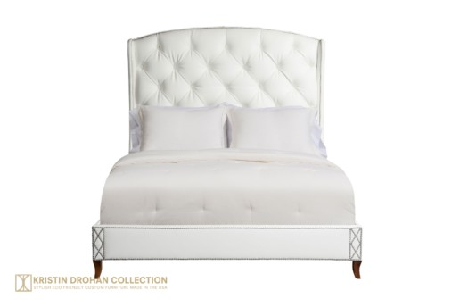 Allison Tufted Panel Bed