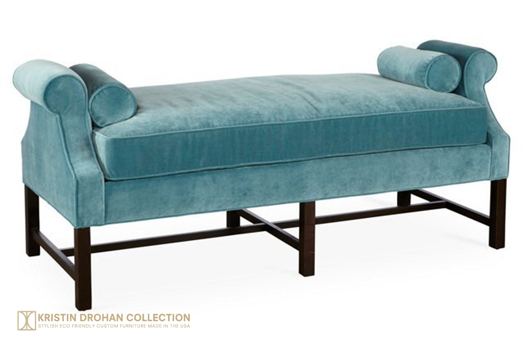 Anne Day Chaise Petite Banks calypso blue  sc 1 st  The Kristin Drohan Collection : day chaise - Sectionals, Sofas & Couches