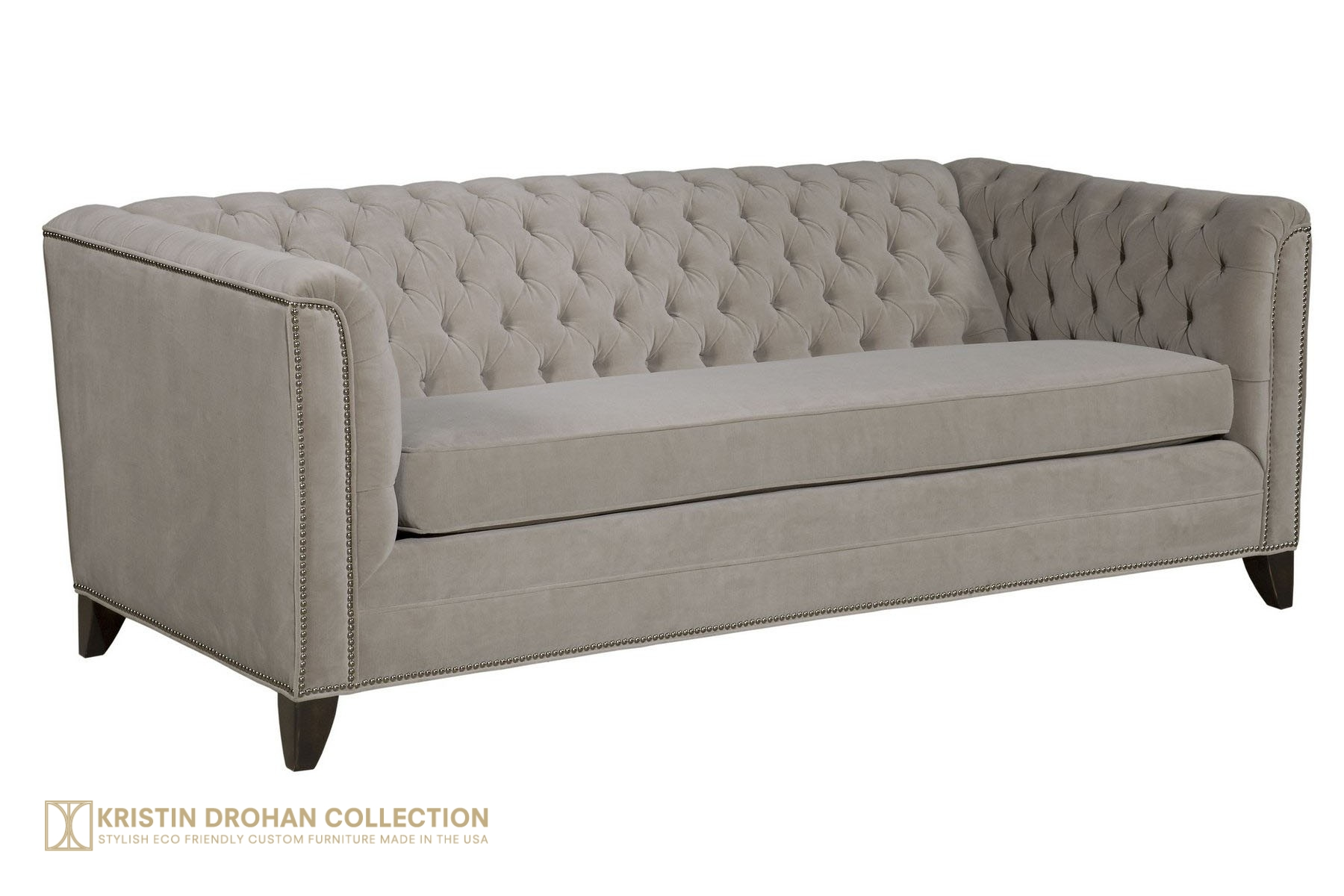 Chip Chesterfield Designer Chesterfield Sofa from The Kristin