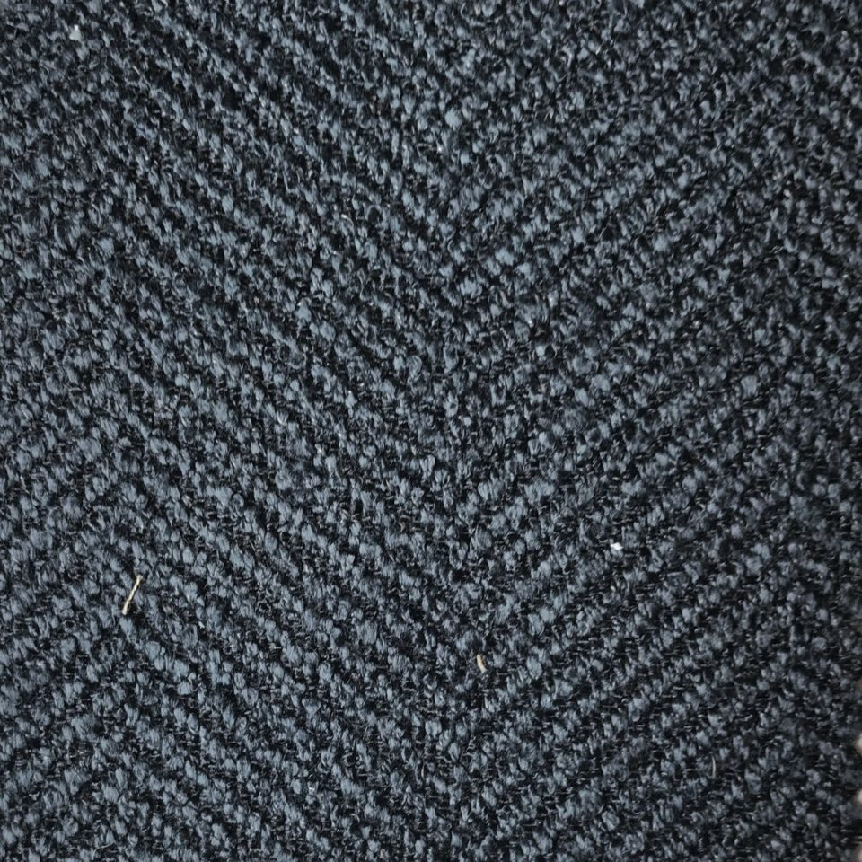 Performance Crypton Herringbone Indigo
