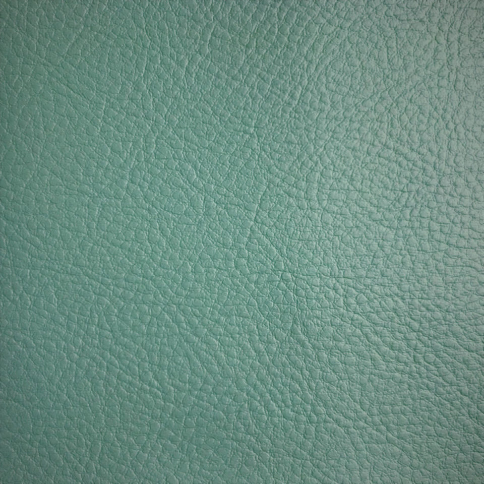 Greenguard Faux Leather Aqua