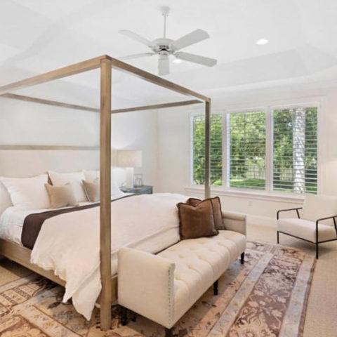 Grayton Canopy Bed, Pearl Home