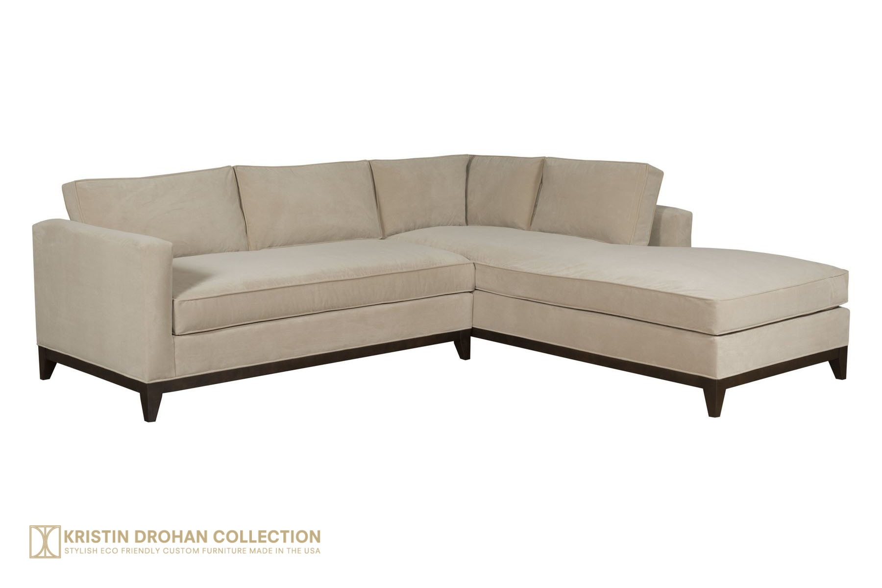 Keegan Sectional Chrom Henry Jute