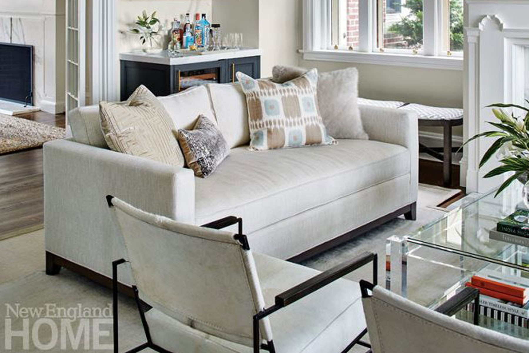 Keegan Sofa Lifestyle (Photo Julie Stein Design)