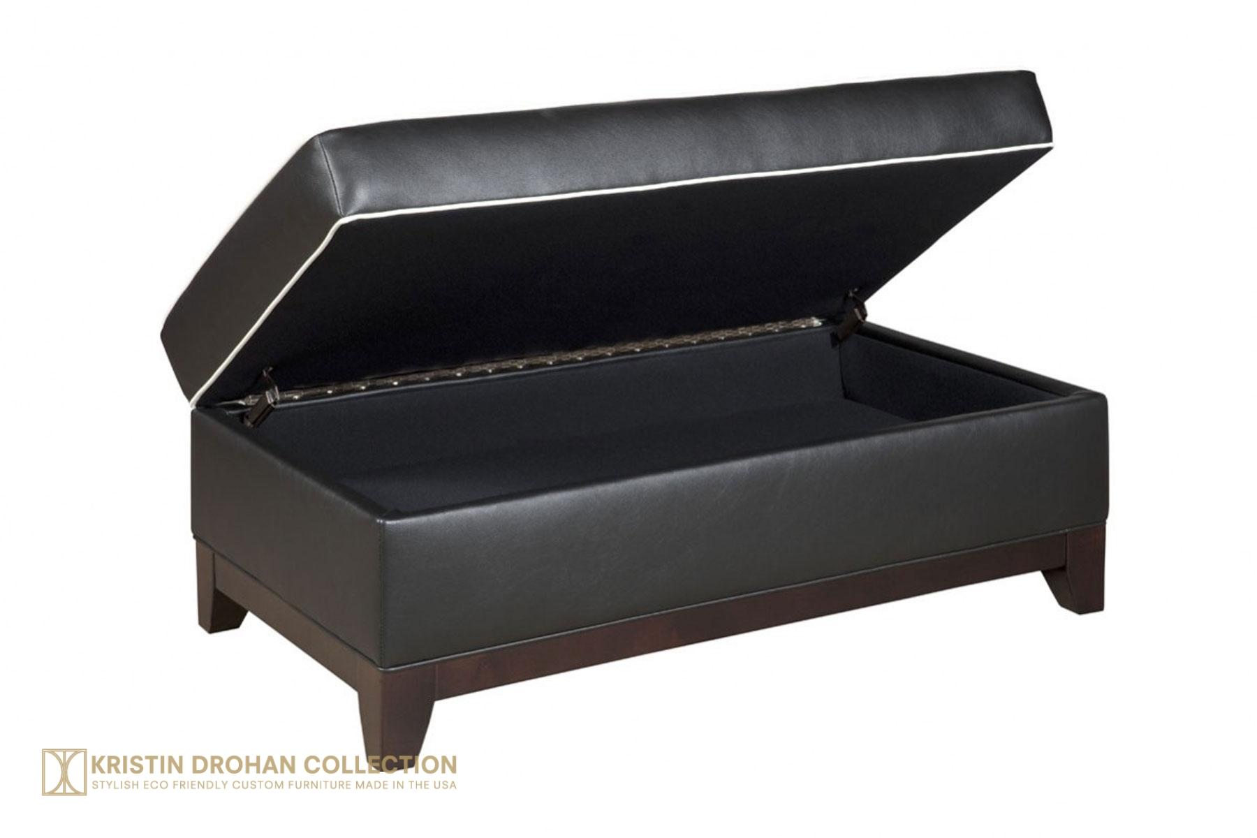 Raegan Storage Ottoman