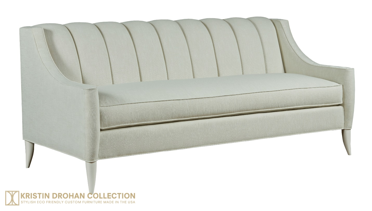 Camellia Sofa, Kristin Drohan Collection