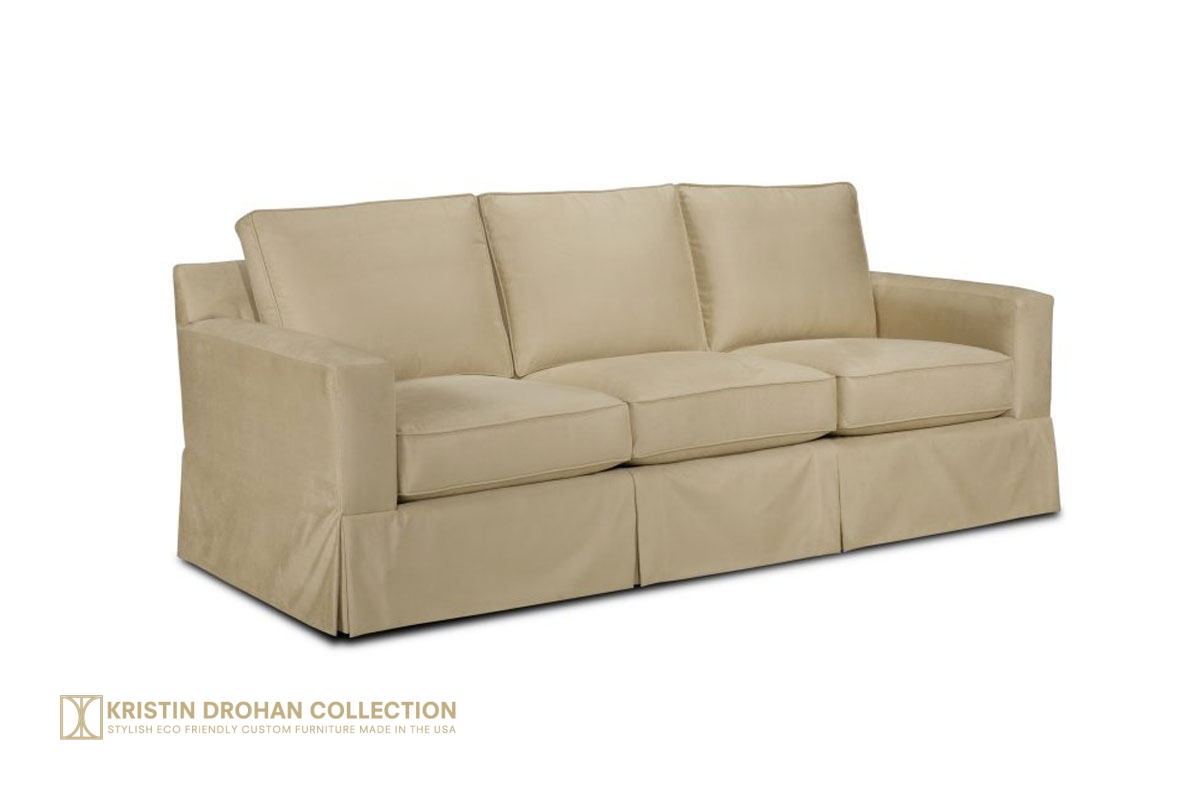 Reed Skirted Sofa