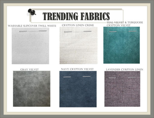 Trending Custom Furniture Fabric