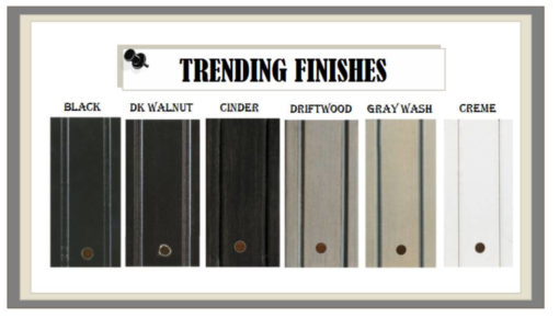 Trending Custom Furniture Finishes