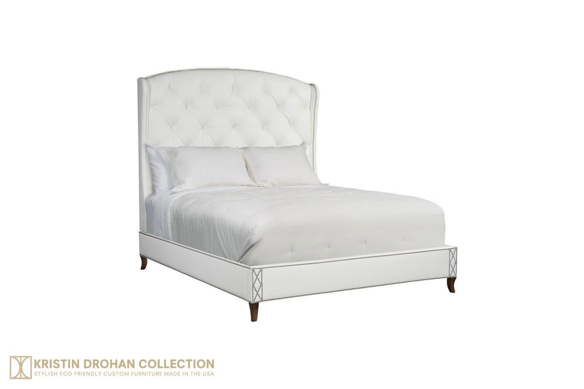 Allison Tufted Panel Bed The Kristin Drohan Collection