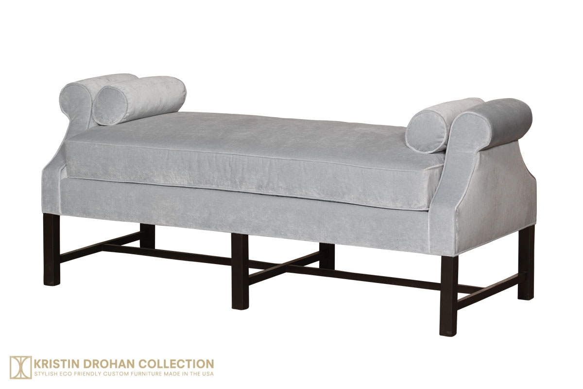 Anne Petite Day Chaise  sc 1 st  The Kristin Drohan Collection : day chaise - Sectionals, Sofas & Couches