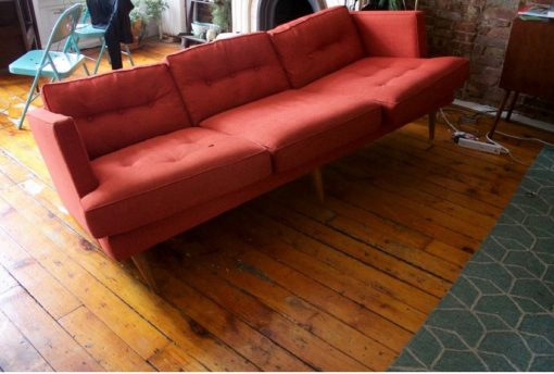 Cutting Corners By Using Shredded Foam, Or Lower Density Foam, Means That  In No Time Your Sofa Will Look Like This Quickly Discontinued West Elm Sofa: