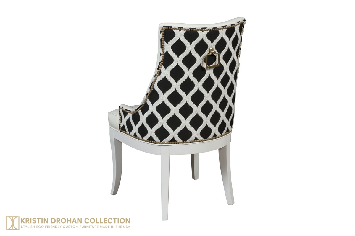 sc 1 st  The Kristin Drohan Collection & Ivy Dining Chair - The Kristin Drohan Collection