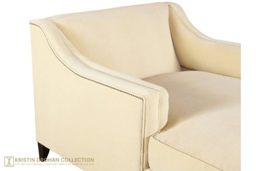 Cupid chaise the kristin drohan collection for Kristin drohan interior design