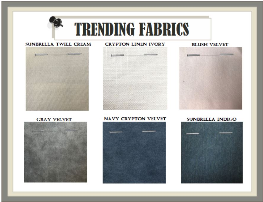 Trends in fabrics for 2019