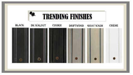 Trending Custom Furniture Finishes